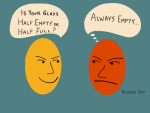 #267: Is your glass half empty? [Podcast] – Repost