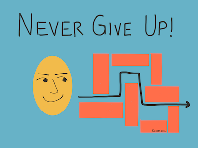 to give up